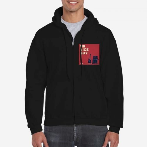 Mr Nice Guy - Zip Up Hoodie